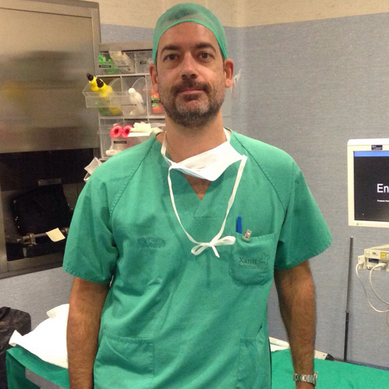Dr. Alejandro Segura - Anastesista