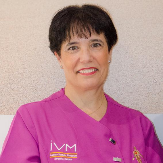 Margarita Campos. Enfermería
